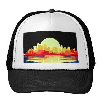 City at Night Trucker Hat