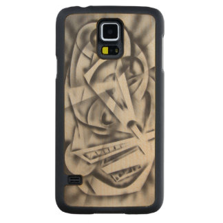 City at Rest Carved Maple Galaxy S5 Case