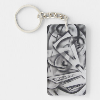 City at Rest Keychain