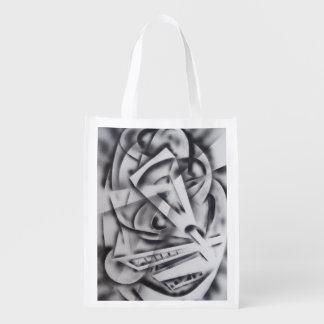 City at Rest Reusable Grocery Bag