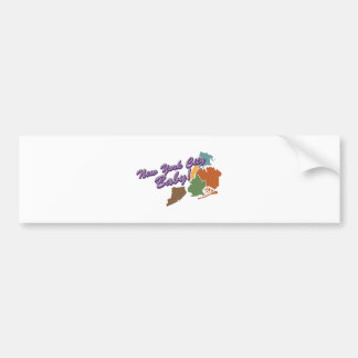 City Baby Bumper Sticker