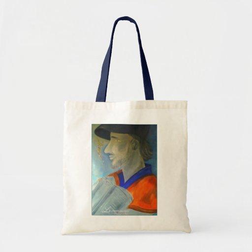 City Bag `` La connaissance´´ Bolsa Tela Barata