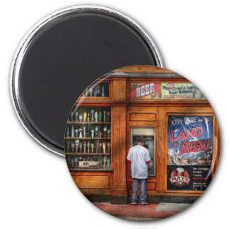 City - Baltimore MD - Explore the land of beer 2 Inch Round Magnet