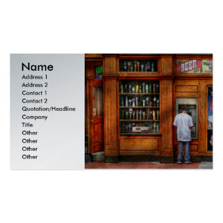 City - Baltimore MD - Explore the land of beer Business Card