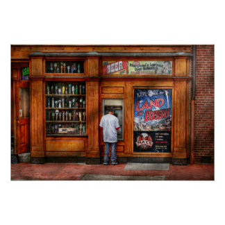 City - Baltimore MD - Explore the land of beer Print