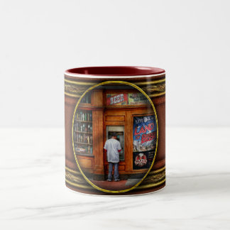 City - Baltimore MD - Explore the land of beer Two-Tone Coffee Mug