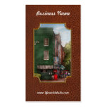 City - Baltimore, MD - Fells Point, MD - Bertha's  Business Card Templates