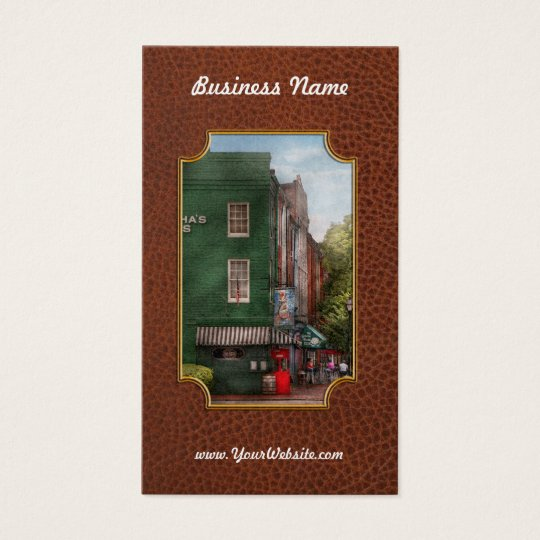 City - Baltimore, MD - Fells Point, MD - Bertha's  Business Card