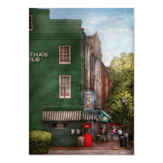 City - Baltimore, MD - Fells Point, MD - Bertha's  Card