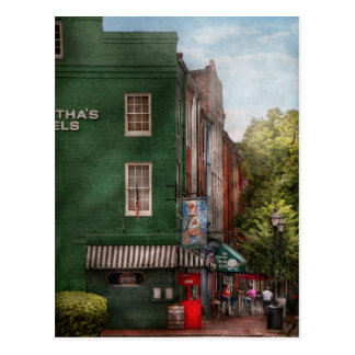 City - Baltimore, MD - Fells Point, MD - Bertha's  Postcard