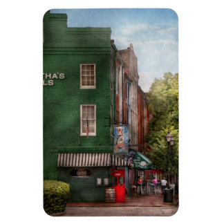 City - Baltimore, MD - Fells Point, MD - Bertha's  Rectangular Photo Magnet