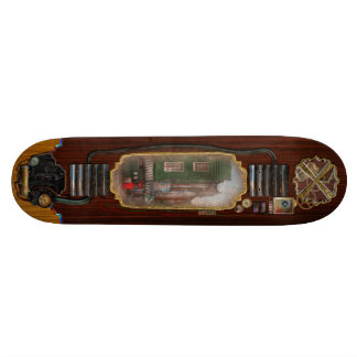 City - Baltimore, MD - Fells Point, MD - Bertha's  Skateboard Deck