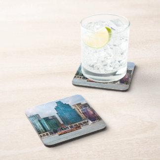 City - Baltimore MD - Harbor east Beverage Coasters