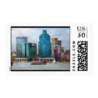 City - Baltimore MD - Harbor east Postage