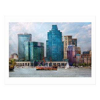 City - Baltimore MD - Harbor east Postcard