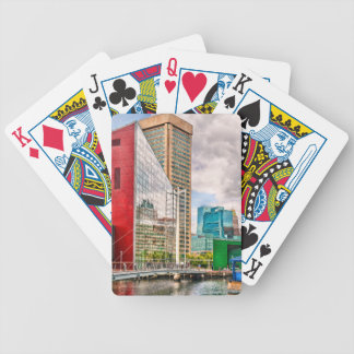 City - Baltimore MD - Harbor Place - Future City Bicycle Playing Cards