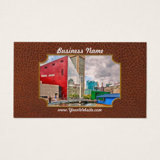 City - Baltimore MD - Harbor Place - Future City Business Card
