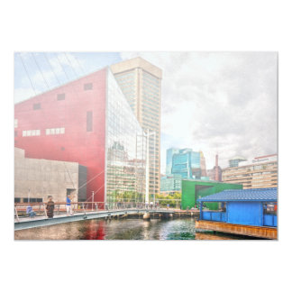 City - Baltimore MD - Harbor Place - Future City Card