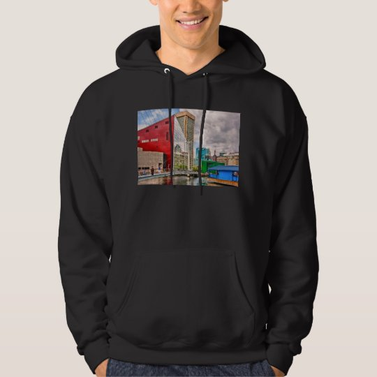 City - Baltimore MD - Harbor Place - Future City Hoodie