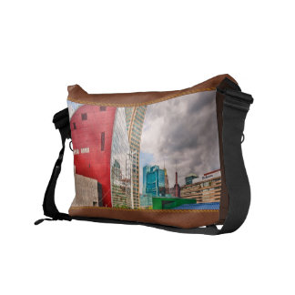 City - Baltimore MD - Harbor Place - Future City Messenger Bags