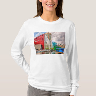 City - Baltimore MD - Harbor Place - Future City T-Shirt