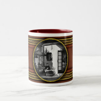 City - Baltimore, MD - Having a cold one Two-Tone Coffee Mug
