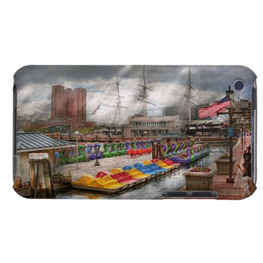 City - Baltimore MD - Modern Maryland Barely There iPod Cases