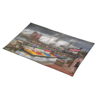 City - Baltimore MD - Modern Maryland Cloth Place Mat