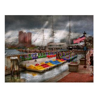 City - Baltimore MD - Modern Maryland Postcard