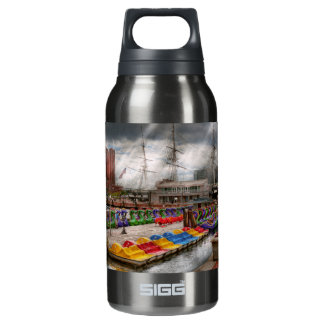 City - Baltimore MD - Modern Maryland 10 Oz Insulated SIGG Thermos Water Bottle