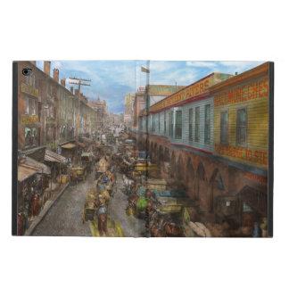 City - Baltimore MD - Traffic on light street 1906 Powis iPad Air 2 Case