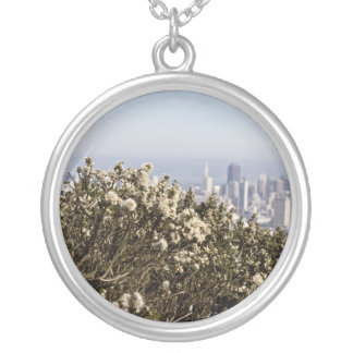 City Behind the Bushes Necklaces