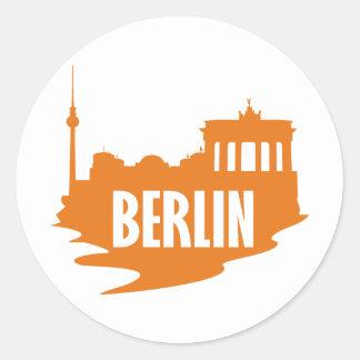 City Berlin Classic Round Sticker
