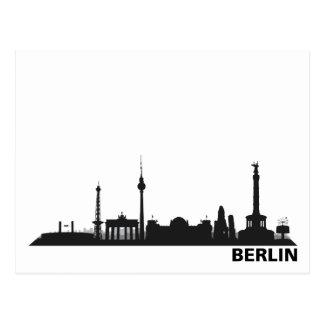 City Berlin - skyline 1c Postcard