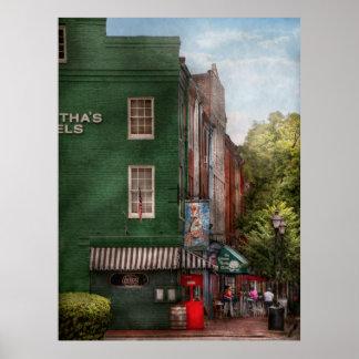 City - Bertha's and the Greene Turlte Poster