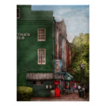 City - Bertha's and the Greene Turlte Print