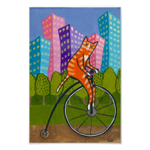 City Bike Ride Poster
