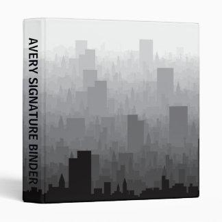 City Vinyl Binder
