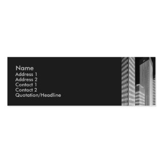 City Blocks Profile Card Business Card Templates