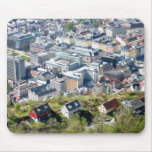 City Border - Bergen From Above Mousepad