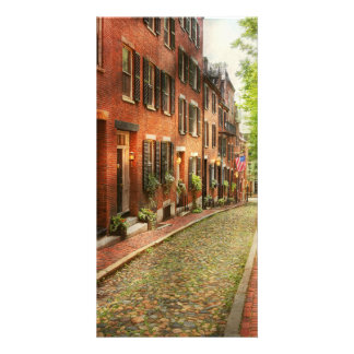 City - Boston MA - Acorn Street Card