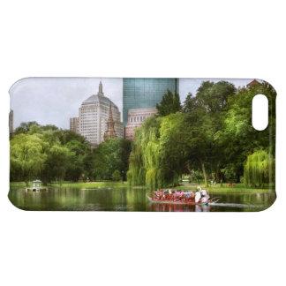 City - Boston Ma - Boston public garden Case For iPhone 5C