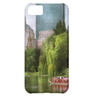 City - Boston Ma - Boston public garden Cover For iPhone 5C