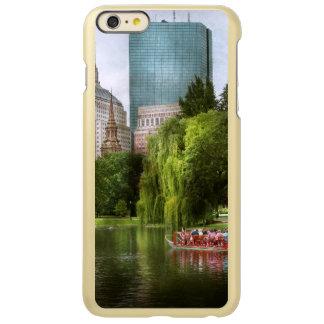 City - Boston Ma - Boston public garden Incipio Feather® Shine iPhone 6 Plus Case