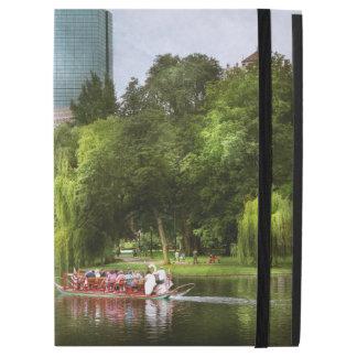 """City - Boston Ma - Boston public garden iPad Pro 12.9"""" Case"""