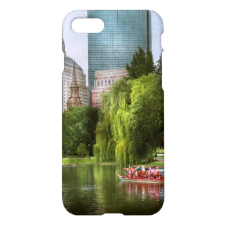 City - Boston Ma - Boston public garden iPhone 8/7 Case