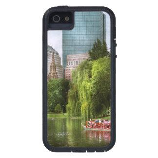 City - Boston Ma - Boston public garden iPhone SE/5/5s Case