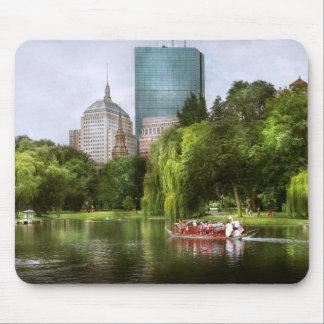 City - Boston Ma - Boston public garden Mouse Pad