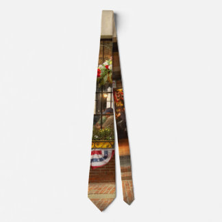 City - Boston MA - For the weary traveler Tie