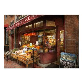 City - Boston Ma - Fresh meats and Fruit Card